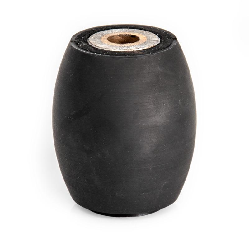 Rullo gomma nera